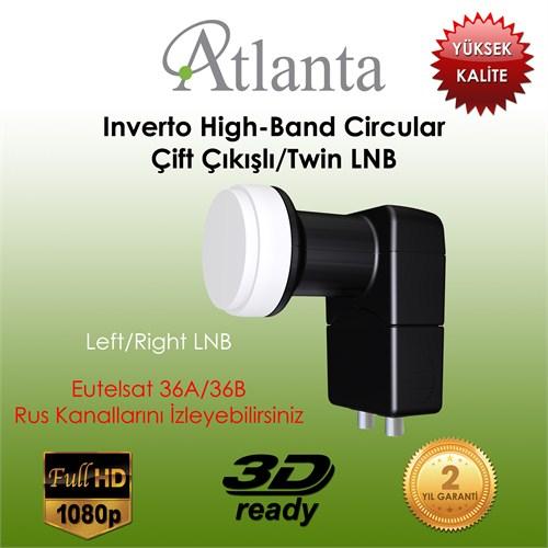 Atlanta Inverto High-Band Circular Twin Lnb (Çift çıkışlı)
