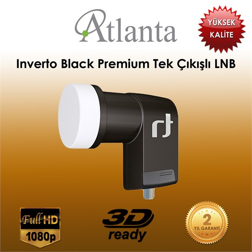 Atlanta Inverto Siyah Premium Single LNB