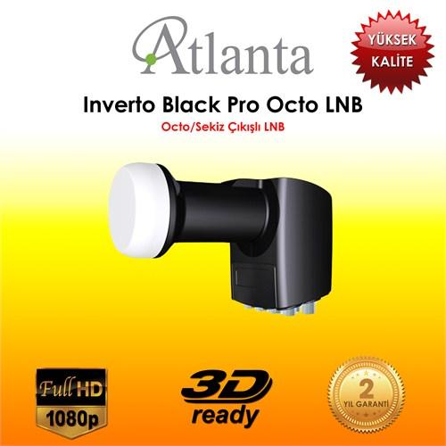 Atlanta Inverto Siyah Pro Octo 8'li LNB
