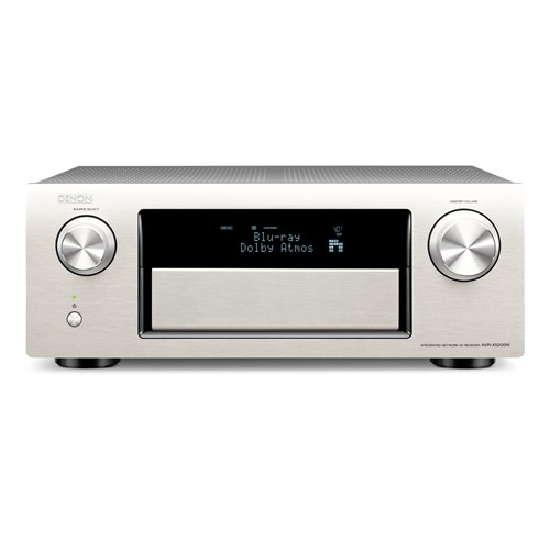 Denon AVR-X5200W 9.2 Kanal Wi-Fi 4K ULTRA HD & 3D PASS THROUGH + AirPlay AV Receiver (Gümüş)