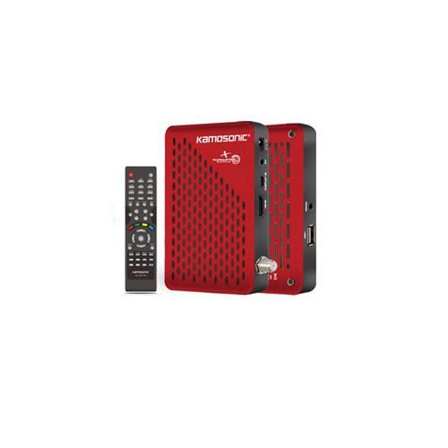 Kamosonic KS-HD1506 Full HD + Biss + USB'den Multimedya Oynatımlı Uydu Alıcı
