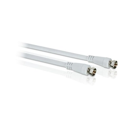 PHILIPS SWV2837W F-type cable,>75 dB / 3,0m