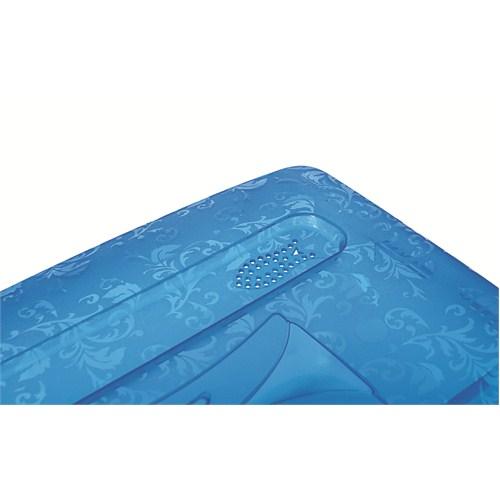 Titiz Tidy Up Küçük Boy Mavi 3 Lü Ayakkabı Ve Eşya Saklama Kutusu