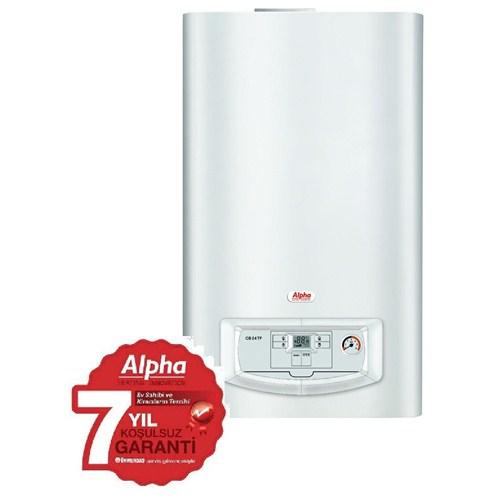 Alpha CB 24 TF 23,8 Kw 20640 kcal/h Konvansiyonel Hermetik Kombi