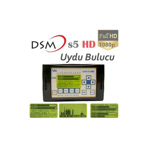 DSM S5 HD Uydu Yön Bulucu ( Çanak Ayarlama Cihazı )