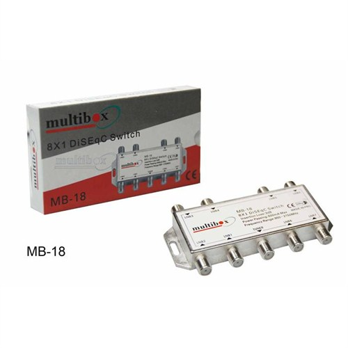 Multibox  Mb- 1-8 Diseqc Switch