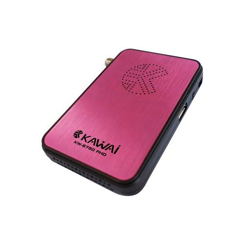 Kawai KW-6750 Full HD Uydu Alıcı (Pembe)