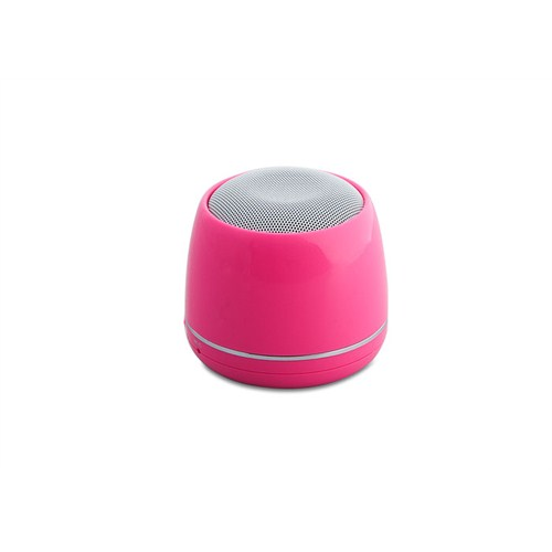 Mikado MD-12BT Pembe FM+ Şarjlı Bluetooth Speaker