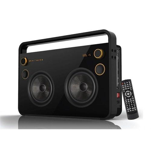 Mikado MD-73BT 60W Siyah Usb+SD+Fm Destekli Bluetooth Karaoke Giriş Speaker