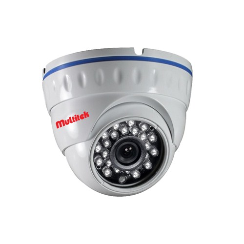 MULTİTEK CIP 13 DF 200 1.3 MP IP DOME GÜVENLİK KAMERASI