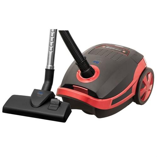 Blue House BH020KD Dijital 2000 W Elektrikli Süpürge Kırmızı Siyah