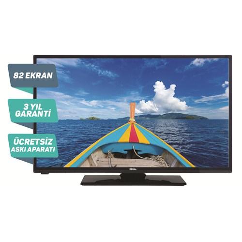 """Regal 32R4017H 32"""" 82 Ekran 100 Hz Uydu Alıcılı LED TV"""
