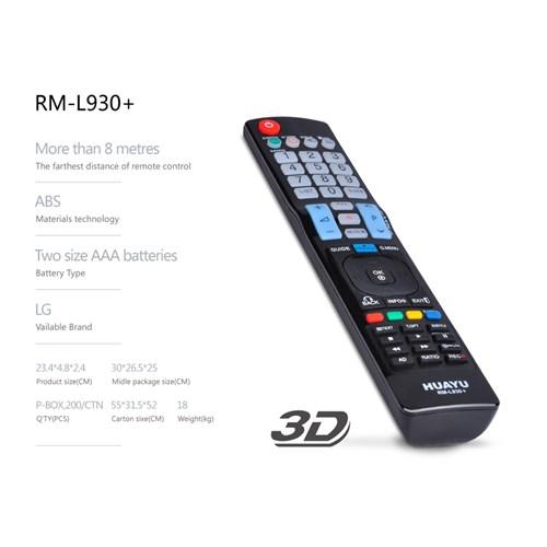 Huayu Rml-930 Lg Tv Kumandası 3D Ve İnternetli