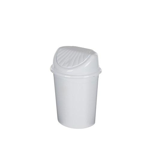 Tuğbasan 4 Lt.İstiridyr Çöp Kovası-Beyaz