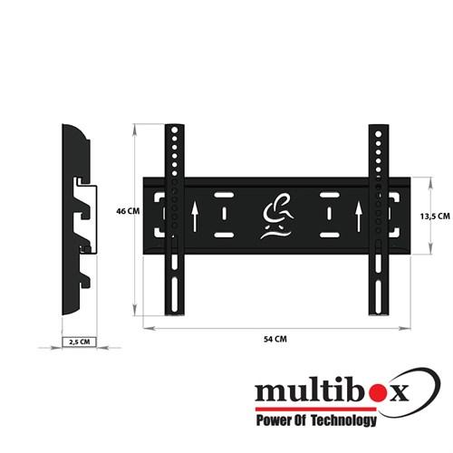 """Multibox Mb-42 37"""" - 42"""" Sabit Askı Aparatı"""