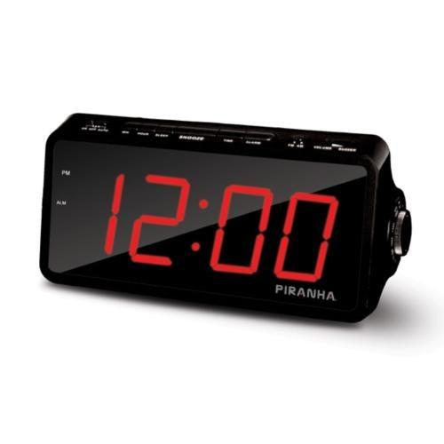 Piranha Timezone W Type Alarm Saatli Radyo