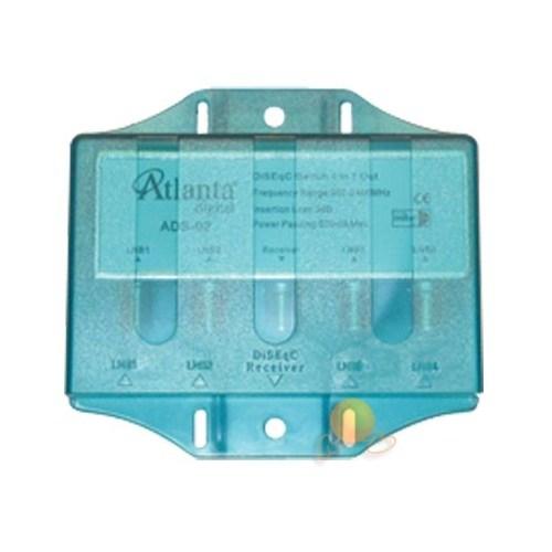 Atlanta ADS-02 Kapaklı Diseqc Switch (1x4)