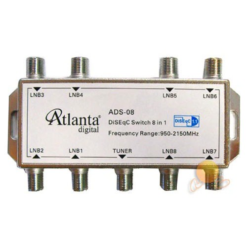 Atlanta ADS-03 Diseqc Switch (1x8)