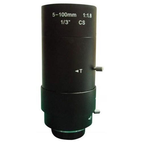 Ducki 5 mm-100 mm Arası Manuel/Ekstra Zoom CS Lens