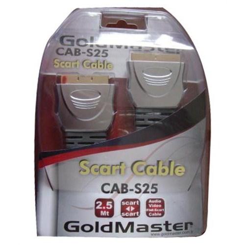 Goldmaster CAB-S25 Scart Kablo (2,5 metre)
