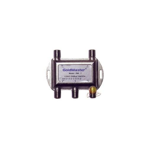 Goldmaster 4'LÜ Diseqc Switch