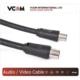 Vcom Cv602-B 1.8Mt Analog Siyah Tv Uzatma