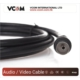 Vcom Cv602-B 10Mt Analog Siyah Tv Uzatma