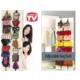 Original Boutique Ayarlanabilir 16'lı Kapı Arkası Çanta Askılığı Bag Rack