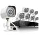 Zmodo Zm-Ss718 8 Kamera + Nvr Kayıt Cihazı 2.8Mm 20-25 Metre 100 M Kablo Hediye Poe Ip Kamera Seti