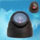 Fdm Sahte Kamera Ledli 360 Oynar Başlıklı Dome