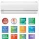 Panasonic Kıt-E12 Qke Etherea Econavi 12000 Btu Inverter Duvar Tipi Klima