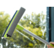 TveT Teleskopik Çekçekli Cam Silme Aparatı Uzun