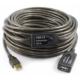 Platoon Usb Uzatma Kablosu 20 Metre Erkek Dişi Güçlendirilmiş Kablo