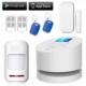 Kerui Atak W2 Sim Kartlı,Sabit hatlı ve Wifi Hırsız Alarm Sistemi