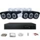 Promax Pro236 6'lı 3 Megapiksel Lens 1080P Aptina Sensör Güvenlik Kamerası Seti