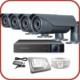 Promax Pro2042S 4'Lü 3 Megapiksel Sony Lens 1080P Aptina Sensör Güvenlik Kamerası Seti