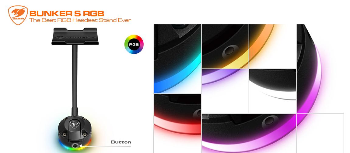 BUNKER S RGB En İyi RGB Kulaklık Standı