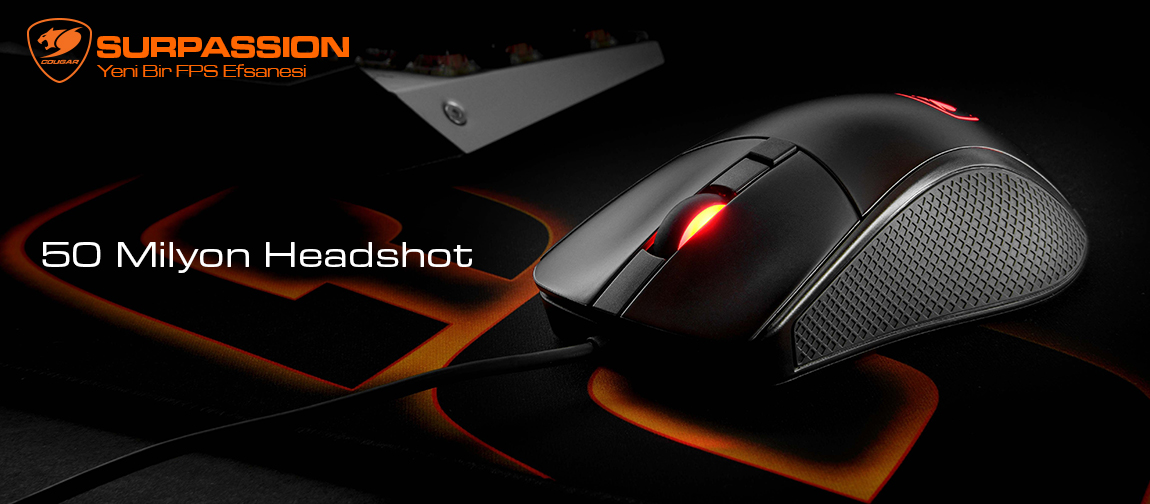 COUGAR Surpassion Optical Gaming Mouse