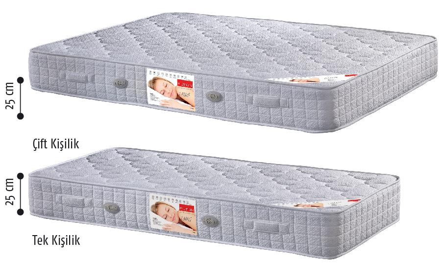 futon gamze full ortopedik yatak 100x200 cm fiyat. Black Bedroom Furniture Sets. Home Design Ideas