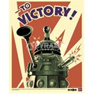 Doctor Who To Victory Mini Poster