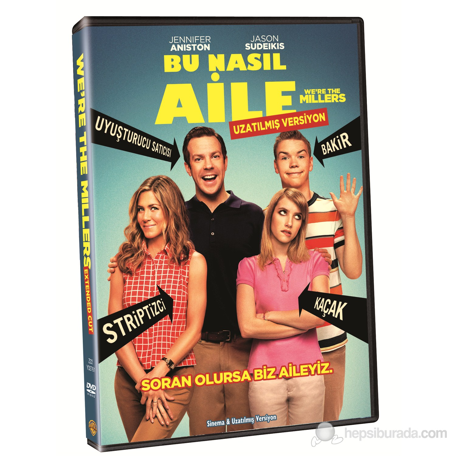 We're The Millers (Bu Nasıl Aile!) (DVD)