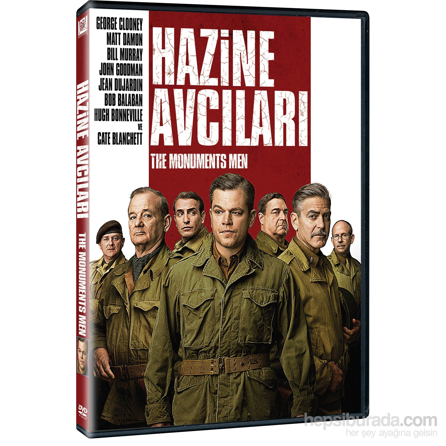 The Monuments Men - Hazine Avcıları (VCD)