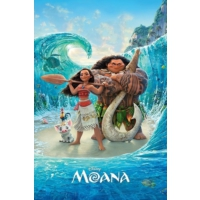 Pyramid International Maxi Poster Moana Magical Sea Pp34018