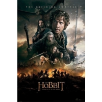Pyramid International Maxi Poster The Hobbit Botfa One Sheet Pp33507