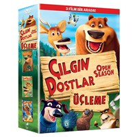Open Season 1,2,3 ( Çılgın Dostlar) Box Set (DVD)