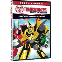 Transformers Robots In Disguise Sezon1 Seri 2 (DVD)