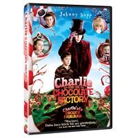 Charlie And The Chocolate Factory (Charlie'nin Çikolata Fabrikası) ( DVD )