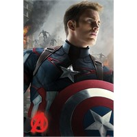 Pyramid International Maxi Poster - Avengers: Age Of Ultron Captain America