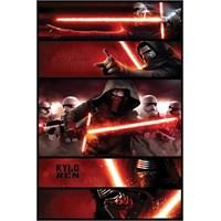 Pyramid International Maxi Poster - Star Wars Episode Vıı Kylo Ren Panels