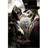 Batman Arkham Asylum Joker Vs. Catwoman